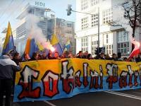 Arkowcy na Marszu Niepodległości