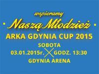 Dopinguj młodych Arkowców podczas AG CUP 2015!