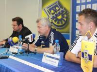 Konferencja przed meczem z Zawiszą Bydgoszcz