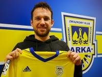 Andrij Bohdanow piłkarzem Arki