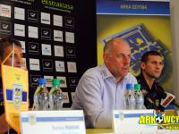 Konferencja prasowa przed meczem z Polonią