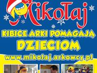 Żółto-Niebieski Mikołaj - zbiórka na meczu z Sandecją!!!