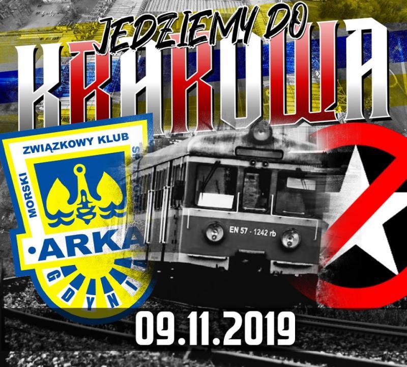 Jedziemy pociągiem specjalnym do Krakowa