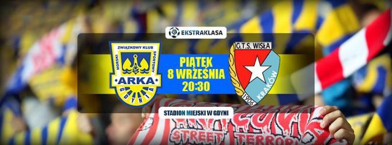 LIVE: Arka Gdynia - Wisła Kraków (relacja radiowa)