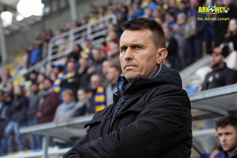 Leszek Ojrzyński odchodzi z Arki