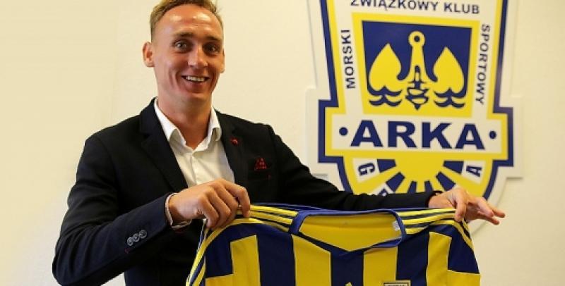 Adam Marciniak piłkarzem Arki