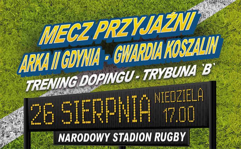ARKA II - GWARDIA KOSZALIN! - doping trybuna B