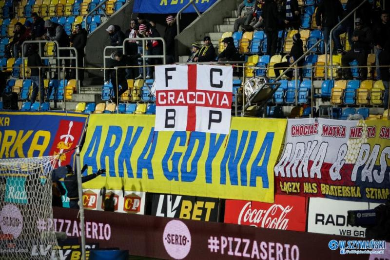 Kibicowsko: Arka - Cracovia