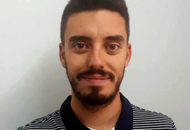 Pablo Ortega skautem Arki